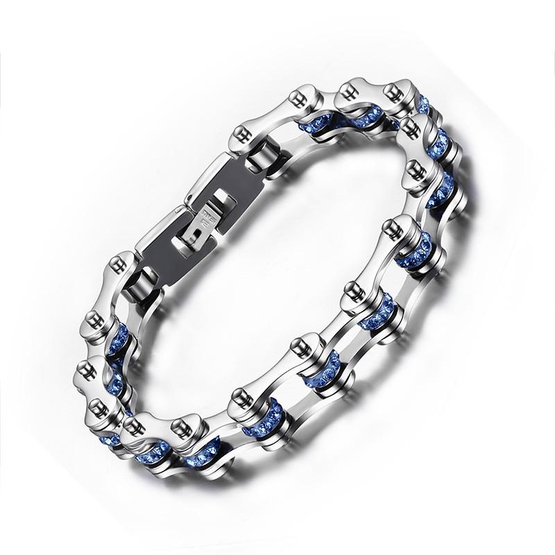 Chaîne Désign 925 Argent Sterling Bracelet