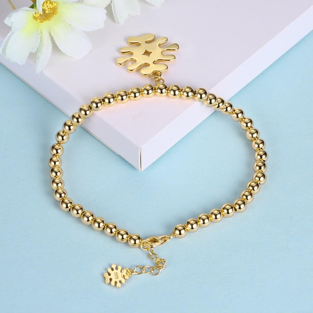 Or Rosé/Argent/Or Breloqueant Pendant S925 Argent Bracelets