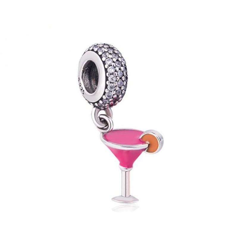 Cocktail Breloque Argent Sterling