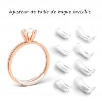 Ajusteur De Taille D'anneau En Résine Invisible Pour Tous Les Anneaux Desserrés