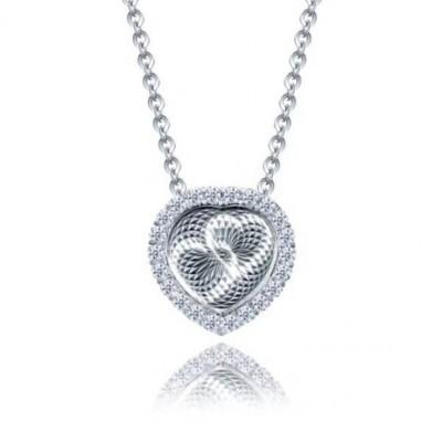Coeur à Coeur S925 Argent Collier