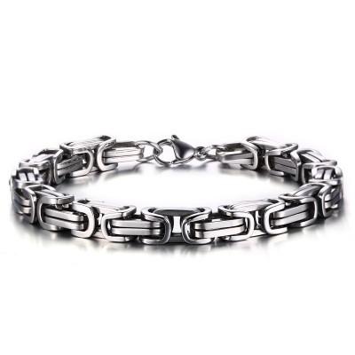 Cool Chaîne Désign 925 Argent Sterling Bracelet