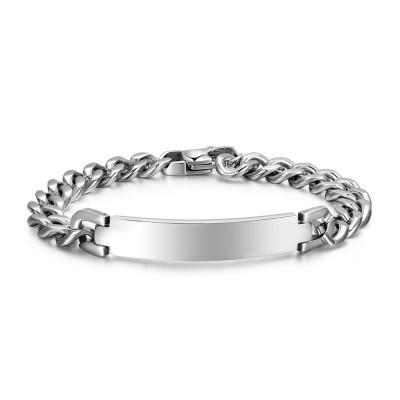 Agréable Chaîne Désign 925 Argent Sterling Bracelet