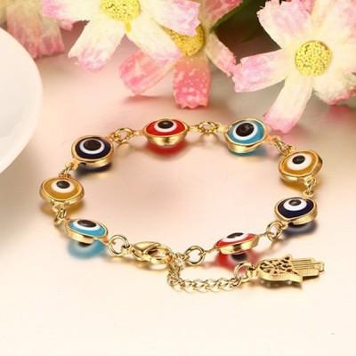 Breloqueant Or 925 Argent Sterling Coloré Bracelet