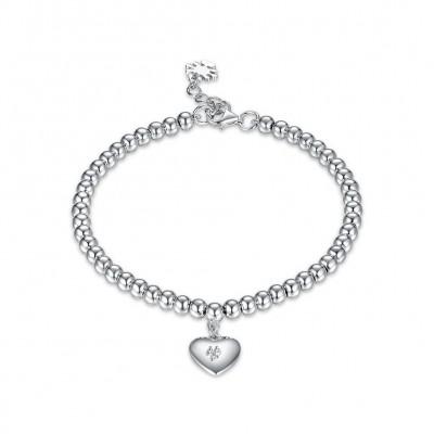 Coeur Pendant Élégant S925 Argent Bracelets