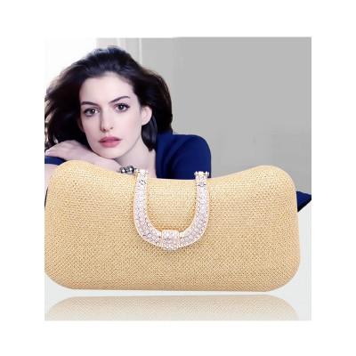 Mini Rhinestone Pillow Fête/Sacs de Soirée