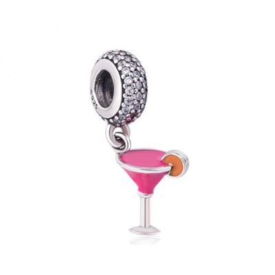 Cocktail Breloque Argent Sterling