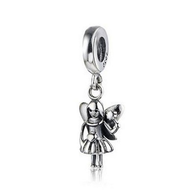 Little Angel Breloque Argent Sterling