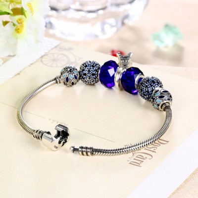Tour Eiffel Perles Petit Accessories S925 Argent Bracelets