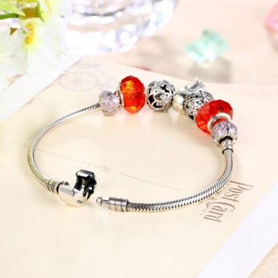 Rouge et Rose Wing Accessories S925 Argent Bracelets
