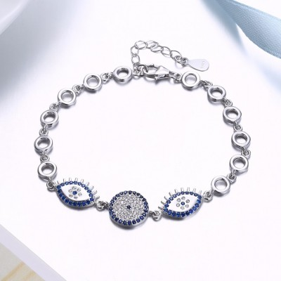 Royal Bleu Accessories S925 Argent Bracelets