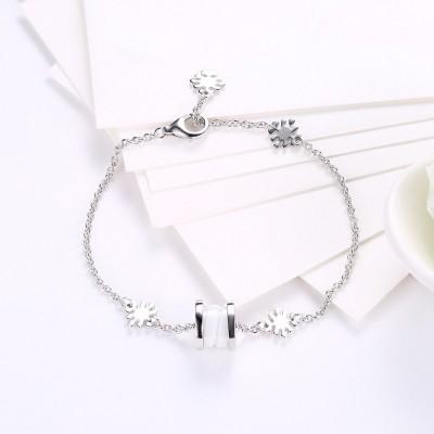 Blanc Spécial Pendant S925 Argent Bracelets