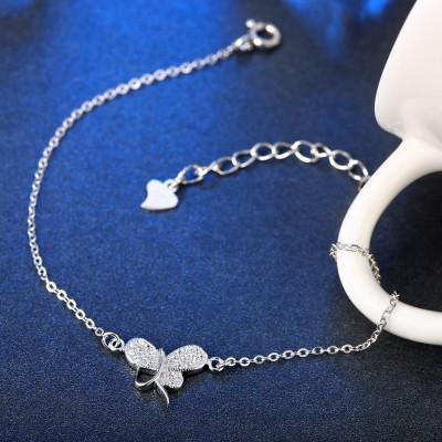 Simple Breloqueant Pendant S925 Argent Bracelets