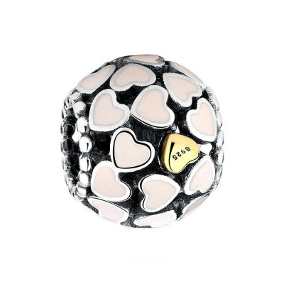Full of Amour Breloque Argent Sterling